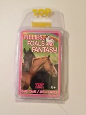 Top Trumps Cards w/Plastic Case Fillies, Foals And Fantasy New