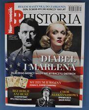 MARLENE DIETRICH & Adolf Hitler mag.FRONT cover Poland  Le Corbusier