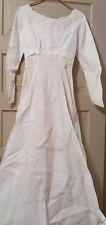 Antique Wedding Dress 1900's size 3 Homemade Steam Punk