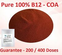VITAMIN B12 POWDER METHYLCOBALAMIN 200 Doses 400 Doses 103.5% = 100% PURE LOOK!!