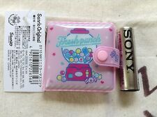 Sanrio Fresh punch mini Vinly Wallet type Mirror with chain kawaii Cute F/S NEW