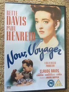 Now Voyager DVD Bette Davis Paul Henreid Claude Rains