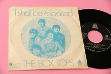 """BOX TOPS 7"""" I SHALL BE RELEASED ORIG ITALY 1969"""