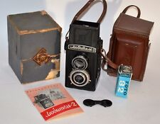 "RARE RUSSIAN USSR ""LOMO Lubitel 2"" TLR MEDIUM FORMAT CAMERA, FULL SET (34)"