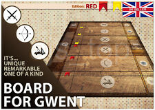 Witcher 3 gwent game board chiffon surface de jeu tapis pour gwent cartes ponts * uk