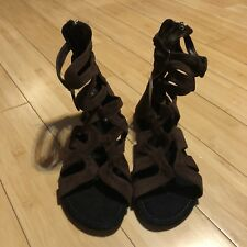 Shiekh Gladiator Flats Size 6.5 Brand New With Tag!!