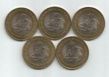 Rs 10 Indian coins (5 pieces) on 125th Birth Anniversary of Dr BR Ambedkar