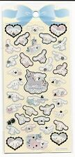 Sanrio Cinnamoroll Gold Foil Outlined Stickers