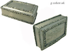 Victorian Silver Table Snuff Box Nathaniel Mills 1833