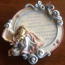 Angels Among Us Figurine Wall Hanger by Betty Singer BS1047A