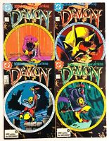 Demon #1-4 Set (DC 1987, 2nd Series) Unread issues! NM