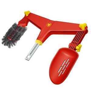 Wolf-Garten Multi-Change® 2in1 Gutter Cleaner Brush/ Leaf Scoop Head Attachement