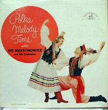 Ted Maksymowicz - Polka Melody Time LP VG ABC 127 Vinyl 1956 Mono USA Rare