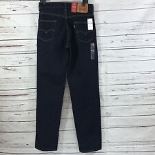 Levi's 550 Men's Jeans Relaxed Tapered Leg Navy Blue Size 31x36 NEW