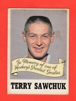 1970-71 OPC O PEE CHEE  #231  Terry Sawchuk Memorial