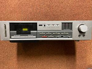 Pioneer CT120 Stereo Cassette Tape Deck (Vintage)