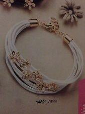 Avon cristina bracelet white