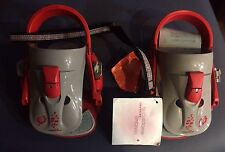 Burton The Command.SI.01 Bindings Orange/Gray Snowboard youth bindings