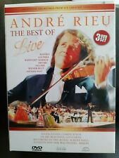 3 DVD-set, The best of Andre Rieu - The best of Live, London & Berlin, 40 songs.