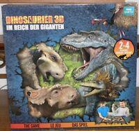Vivid Dinosaurier 3D Im Reich der Giganten Das Spiel The Game Neu OVP NEW