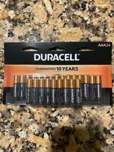 Duracell  AAA Battery - 24 Count Exp. March 2030
