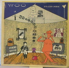 WOO It's Cosy Inside LP Experimental/Art Rock – Scarce, Original SEALED COPY!