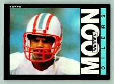 1985 Topps Warren Moon Rookie Card #251 NRMT Football Card