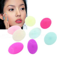 20pcs Silicone Wash Pad Face Exfoliating Blackhead Facial Cleansing Brush Tool