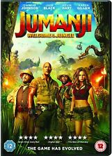 Jumanji: Welcome To The Jungle [DVD] [2017] MINT -  The Cheap Fast Free Post