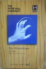 Elaine Paige  The Misanthrope  London theatre Playbill Program Peter Bowles 1998