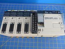 Omron SYSMAC C200H PLC w/ C200H-MR431 ID212 ID501 (2) OD215 MD215 modules