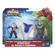 Marvel Ultimate Spiderman Sinister 6 Spider-Man vs Marvels Sandman - NIB