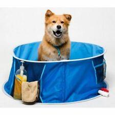 Medium Portable Non Slip Pop Up Dog Pet Bath Pool Cool Down D-91/H-33cm