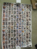 Rare Uncut 1980 Topps Star Wars Empire Strikes Back Card Sheet 132 Cards