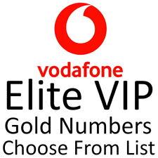 Vodafone UK ELITE GOLD VIP BUSINESS EASY MOBILE PHONE NUMBER DIAMOND SIM CARD