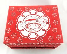 Strawberry Shortcake Stationary Marker Box 3 Drawer Chest Cut Outs Paper Glitter