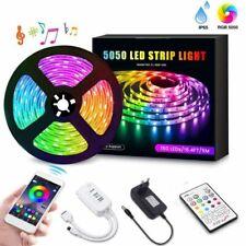 Ruban Bande LED RGB, Bande Lumineuse Flexible Etanche, avec Télécommande, Neuf