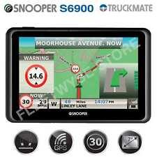 "New Snooper Truckmate S6900 7"" Truck HGV GPS Sat Nav UK Europe Maps"