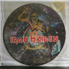 IRON MAIDEN PIECE OF MIND PICTURE DISC~SEALED ORG 1983 LP~HYPE STICKER~SEAX12306