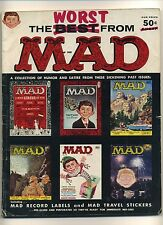 WORST FROM MAD nn (GVG) 1st Mad annual; 1958; E.C. Comics; Magazine (c#07272)