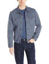 NWT Levi's Mens Trucker Jean Denim Jacket -Blue Turbulence Garment Dye Sz XLarge