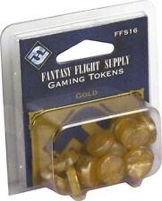FANTASY FLIGHT SUPPLY: GOLD GAMING TOKENS