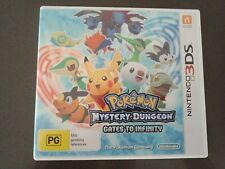 Pokemon Mystery Dungeon Gates to Infinity Nintendo 3ds PAL
