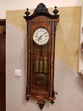 3 weight Gustav Becker repetier 1907 Grand Sonnerie wall clock