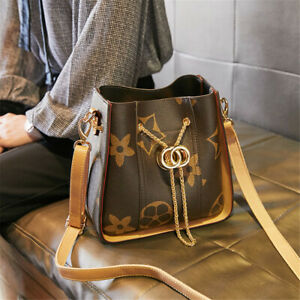 Women's Fashion Designer Style Tote Bags Faux Leather Shoulder Ladies Handbag