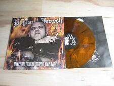 P. Paul Fenech International Super Bastard Brown Vinyle LP Psychobilly météorite