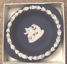 Wedgewood Jasperware Blue Trinket Dish