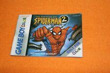 Spider Man 2 Anleitung Nintendo Gameboy Beschreibung Manual