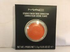 MAC STUDIO FINISH SKIN CORRECTOR PURE ORANGE  new in box authentic