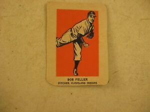 WHEATIES CEREAL HAND CUT SPORTS CARD BOB FELLER CLEVELAND INDIANS BASEBALL